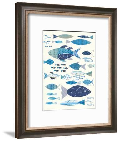 Go With the Flow II-Courtney Prahl-Framed Art Print