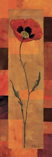 Goa Poppy Panel I-Paul Brent-Art Print