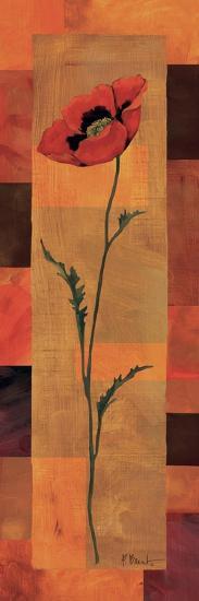 Goa Poppy Panel II-Paul Brent-Art Print