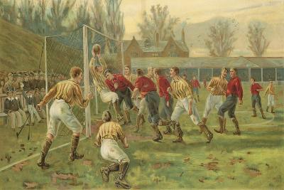Goal-Thomas Marie Madawaska Hemy-Giclee Print