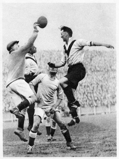 Goalmouth Action at Clapton Orient, London, 1926-1927--Giclee Print