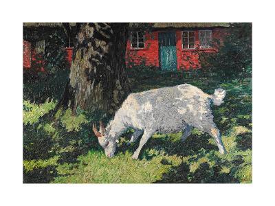 Goat in the Garden, C. 1903-5-Hans Am Ende-Giclee Print