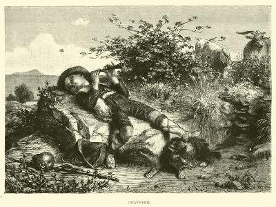Goatherd--Giclee Print