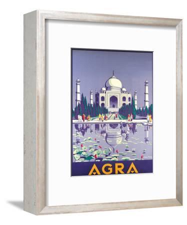 Agra Taj Mahal c.1937 by Gobinda Mandal