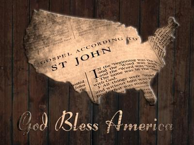God Bless America-Sheldon Lewis-Framed Art Print