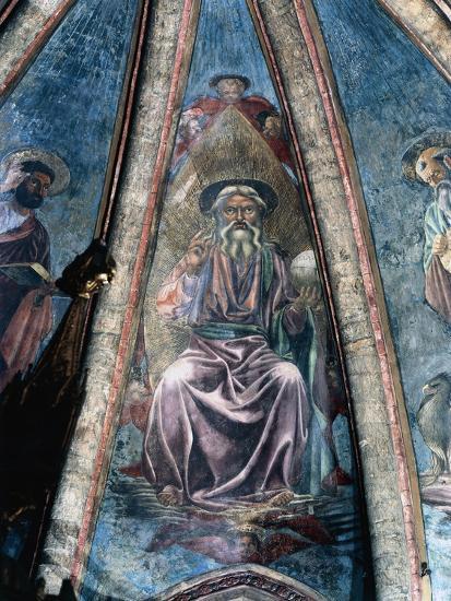 God Father, 1442-Andrea Del Castagno-Giclee Print