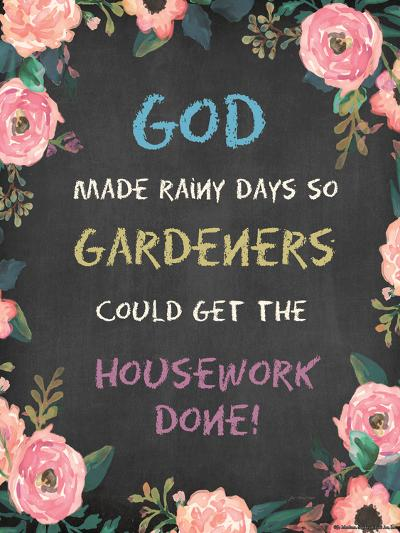 God Made - Floral-Jo Moulton-Art Print