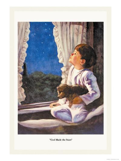 God Made the Stars-M.w. Remington-Art Print