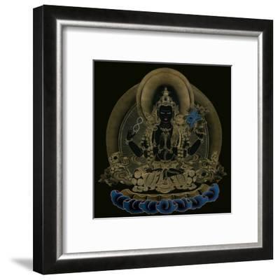God Of Compassion--Framed Art Print
