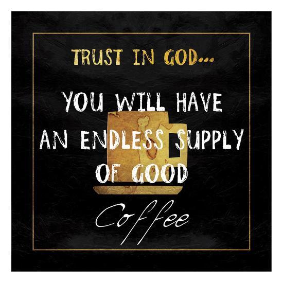 God's Coffee-Sheldon Lewis-Art Print