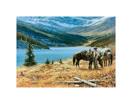 God's Country-Richard Freeman-Art Print