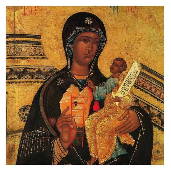 God's Mother Symbols--Art Print