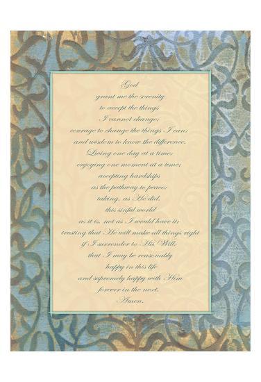 God Serenity-Smith Haynes-Art Print
