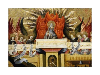 God the Father Surrounded by Angels, Altarpiece from Verdu, 1432-34-Jaume Ferrer II-Giclee Print