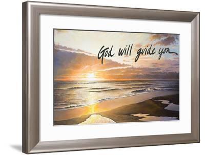 God Will Guide You-Bruce Nawrocke-Framed Art Print