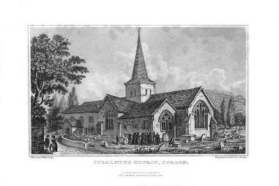 Godalming Church, Surrey, 1829-J Shury-Giclee Print