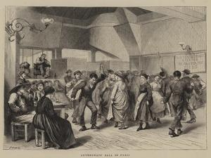 Auvergnats' Ball in Paris by Godefroy Durand