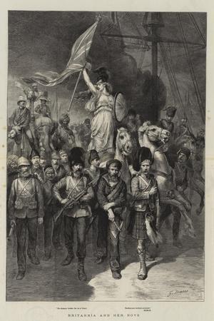 Britannia and Her Boys