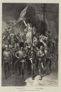 Britannia and Her Boys by Godefroy Durand