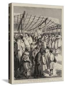 Cursing the Christians, a Ride Through the Bazaars of Fez on the Way to Tangier by Godefroy Durand