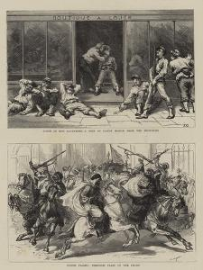 Scenes in Paris by Godefroy Durand