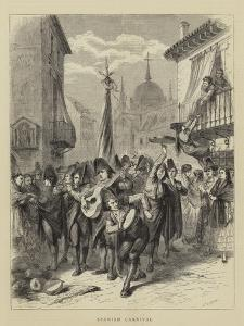 Spanish Carnival by Godefroy Durand