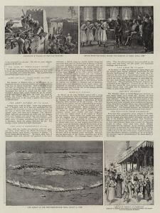 The British in Egypt by Godefroy Durand