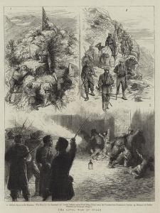 The Civil War in Spain by Godefroy Durand