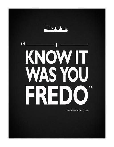 Godfather It Was You Fredo-Mark Rogan-Giclee Print
