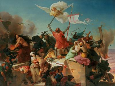 Godfrey De Bouillon, French Crusader-Karl Mucke-Giclee Print