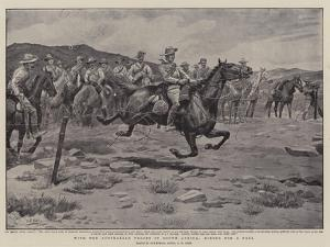 With the Australian Troops in South Africa, Riding for a Fall by Godfrey Douglas Giles