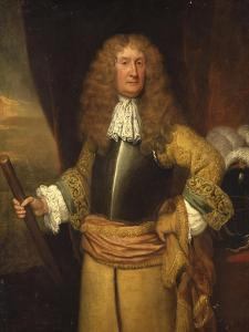 Henry, 3rd Lord Arundell of Wardour, Holding a Baton as Master of the Horse, C.1680 by Godfrey Kneller