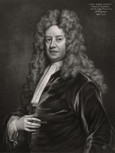 John Somers, 1st Baron Somers, English Politician, 1700S by Godfrey Kneller