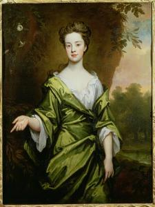 Portrait of a Girl in Green, Probably a Marriage Portrait, 1702 by Godfrey Kneller