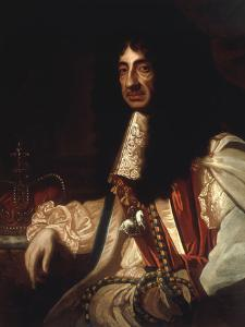 Portrait of Charles II by Godfrey Kneller