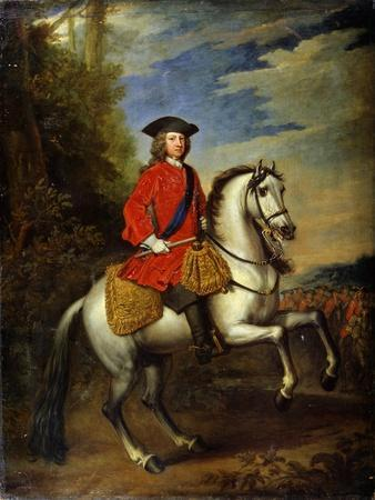 Portrait of King George I of Great Britain, 1717