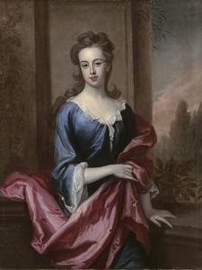 Portrait of Mary Calverley, Lady Sherard, C.1696 by Godfrey Kneller