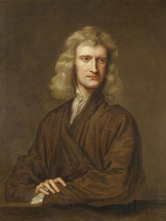 Portrait of Sir Isaac Newton (1642-1727)