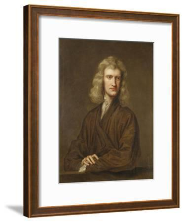 Portrait of Sir Isaac Newton, the Great Philosopher, Mathematician and Astronomer