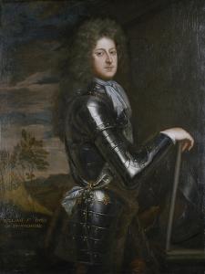 Portrait of William Cavendish, 1st Duke of Devonshire, after C.1680-85 by Godfrey Kneller