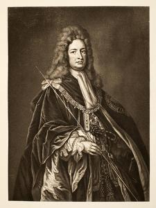 Robert Harley, Earl of Oxford, Pub. 1902 by Godfrey Kneller