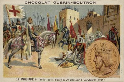 Godfrey of Bouillon at Jerusalem, 1099--Giclee Print