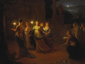 The Wise and Foolish Virgins by Godfried Schalcken