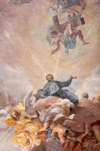 Apotheosis of St. Ignatius of Loyola and the allegory of the missionary work of the Jesuits by Godong