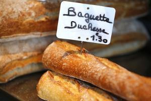 French Baguette, Saint-Gervais-Les-Bains, Rhone-Alpes, France, Europe by Godong