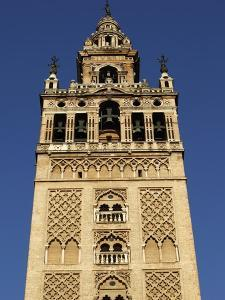 Giralda, the Seville Cathedral Bell Tower, Formerly a Minaret, UNESCO World Heritage Site, Seville, by Godong