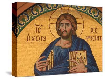 Greek Orthodox Icon Depicting Jesus Christ, Thessalonica, Macedonia, Greece, Europe