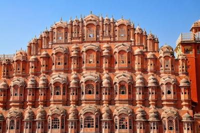 Hawa Mahal (Palace of Winds), Built in 1799, Jaipur, Rajasthan, India, Asia by Godong