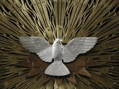Heiliggeistkirche Church Holy Spirit Dove by Joseph Plecnik, Vienna, Austria, Europe