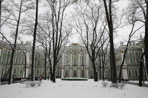 Hermitage Museum, UNESCO World Heritage Site, St. Petersburg, Russia, Europe by Godong